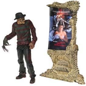 Boneco Freddy Krueger Movie Maniacs 4