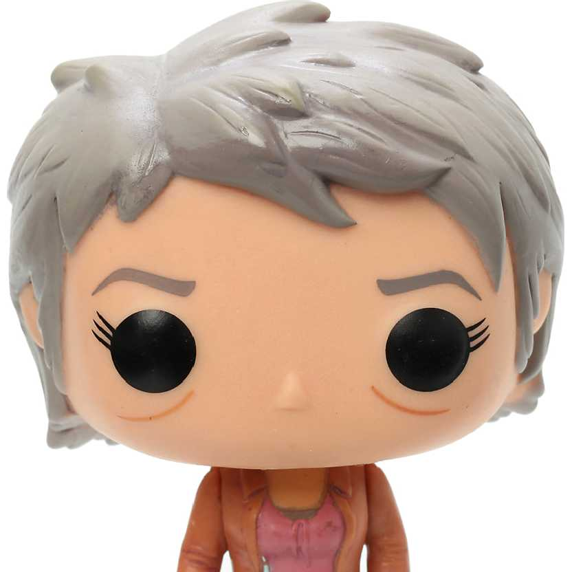Boneco Funko Pop! Carol Peletier: The Walking Dead vinyl figure número 156