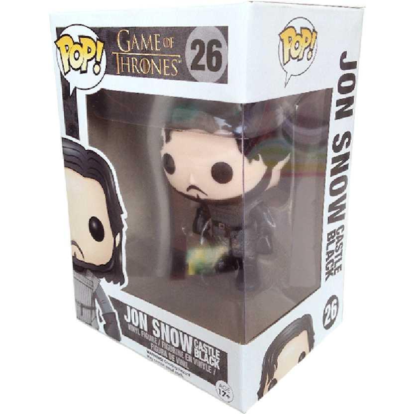 Boneco Funko Pop! Game Of Thrones Jon Snow (A Guerra dos Tronos) vinyl figure número 26