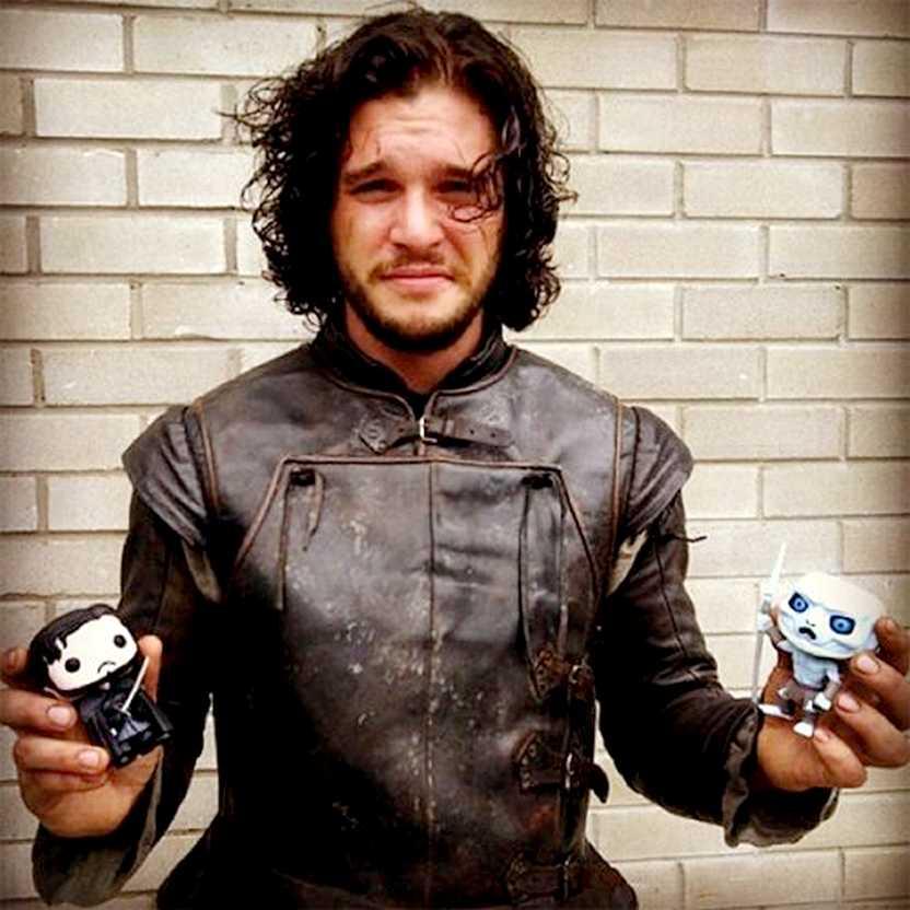 Boneco Funko Pop! Game of Thrones Jon Snow (Kit Harington) número 07
