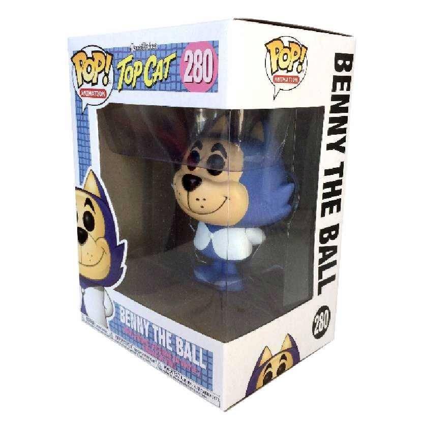 Boneco Funko Pop Batatinha Hanna Barbera Top Cat vinyl figure número 280 Original