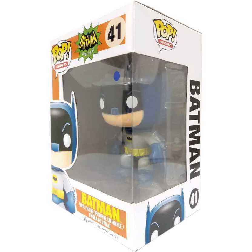 Boneco Funko Pop Batman 1966 Classic TV series vinyl figure número 41 Original