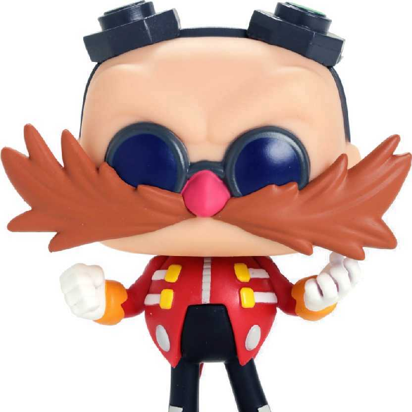 Boneco Funko Pop Dr. Eggman do game Sonic The Hedgehog vinyl figure número 286