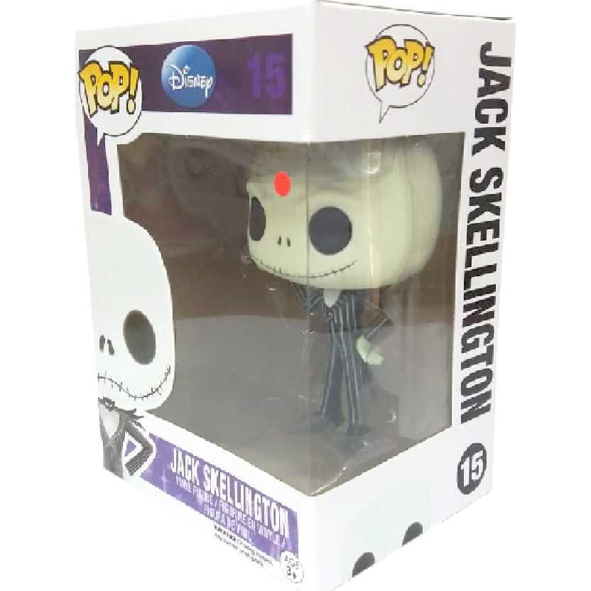 Boneco Funko Pop Jack Skellington Disney vinyl figure número 15 comprar no Brasil