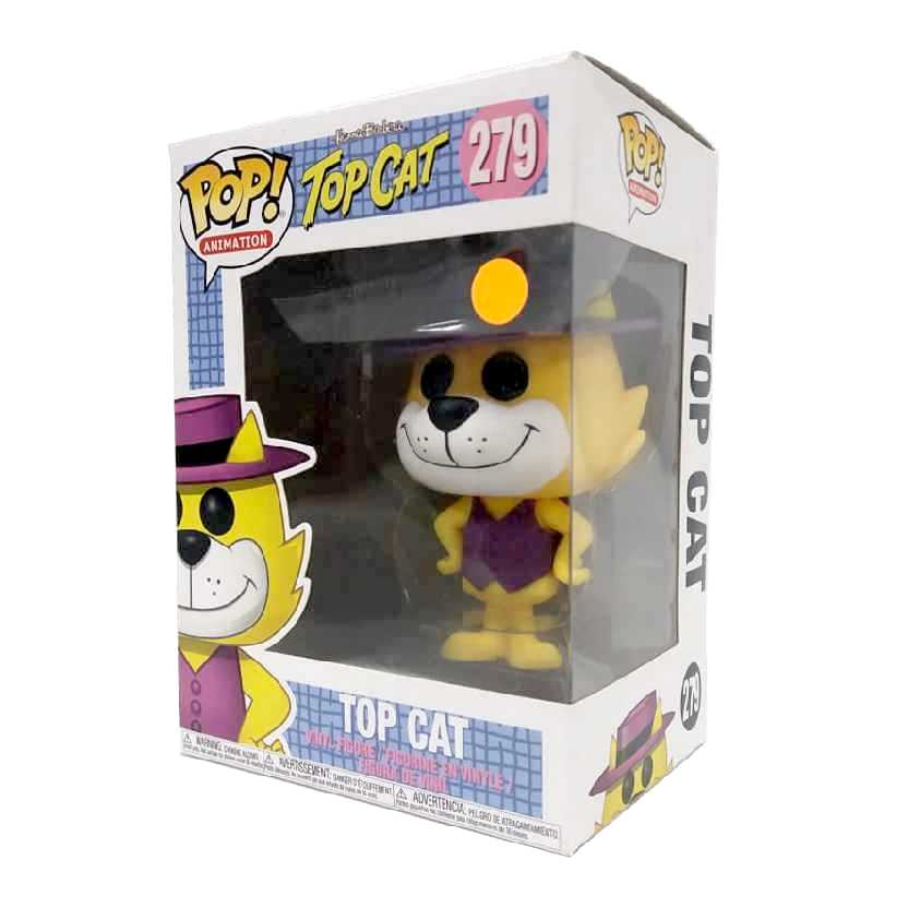 Boneco Funko Pop Manda Chuva Hanna Barbera Top Cat vinyl figure número 279 raro