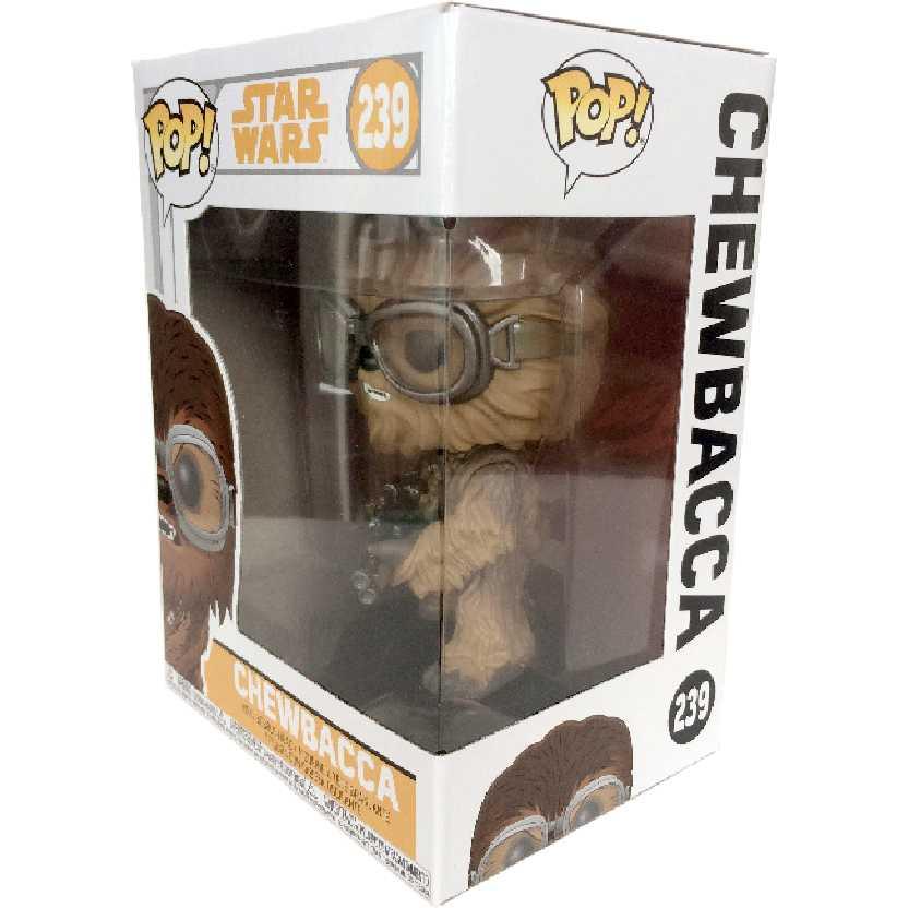 Boneco Funko Pop Star Wars Chewbacca vinyl figure número 239