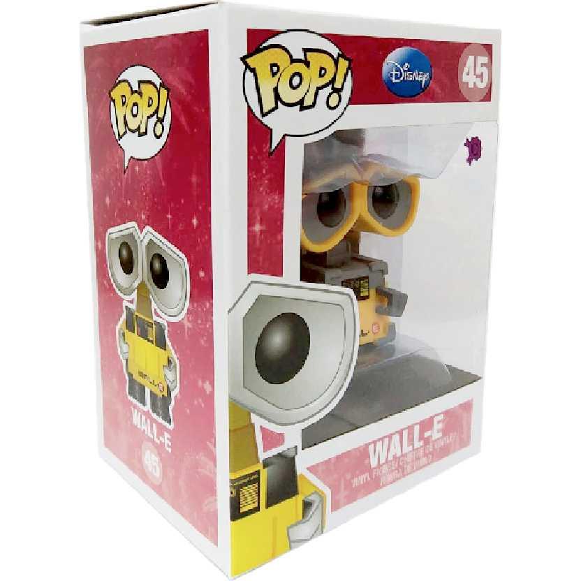 Boneco Funko Vynil Pop! Wall-E #45 do filme Wall-E Disney Pixar