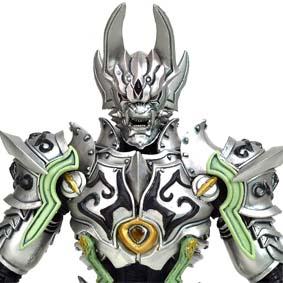 Boneco Garo Makai Senki Silver Knight / Bonecos Bandai Brasil