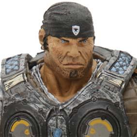Boneco Gears of War 3 Marcus Fenix Neca Toys Brasil Action Figures