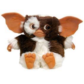 Boneco Gizmo (Bicho de pelúcia do personagem - filme Gremlins) da Neca Toys