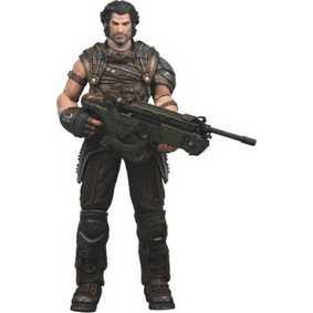 Boneco Grayson Hunt (aberto) Bulletstorm Neca Toys