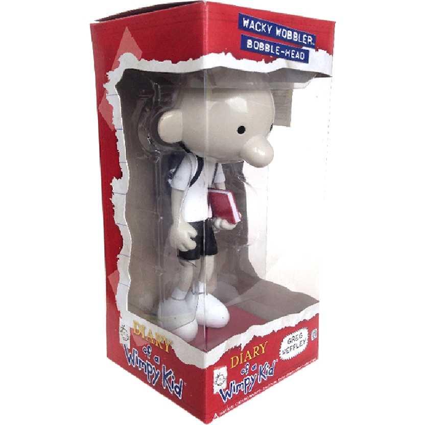 Boneco Greg Heffley Diário de um banana Bonecos Funko Diary of a Wimpy Kid Bobble Head