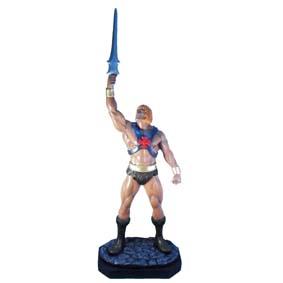 Boneco He-Man lançamento 2011 para coleção escala 1/5 ( Masters of The Universe )