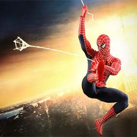 Boneco Homem Aranha 3 Hot Toys :: Hot Toys Spider Man 3 Action Figure