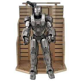 Boneco Homem de Ferro 2 Filme Bonecos Marvel Select - Iron Man II War Machine
