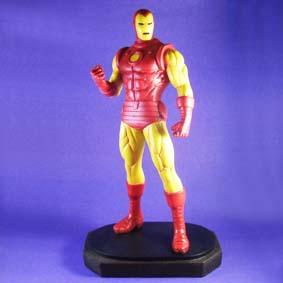 Boneco Homem de Ferro em resina