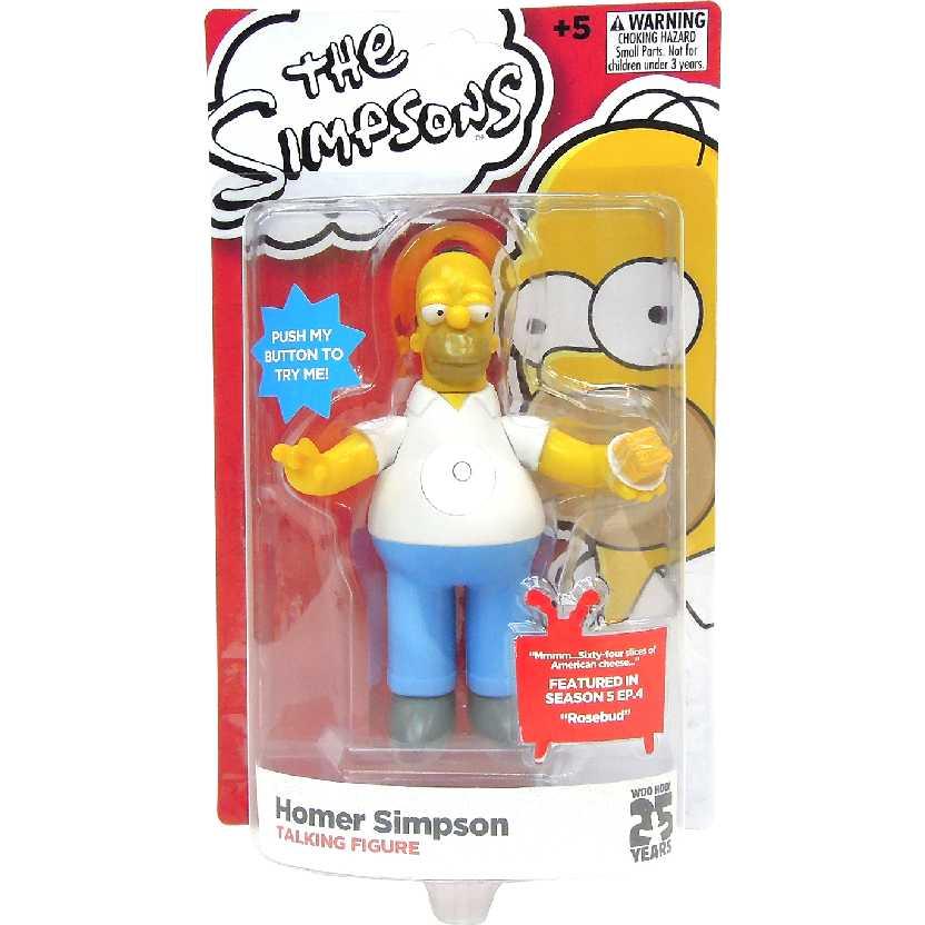 Boneco Homer Simpson com som (Multikids) Bonecos Simpsons