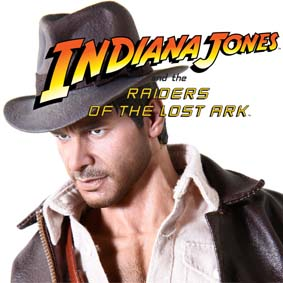 Boneco Hot Toys Brasil Indiana Jones DX Bonecos escala 1/6