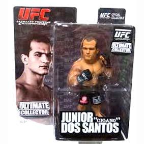 Boneco Junior dos Santos ( Cigano ) Bonecos UFC Round 5 MMA