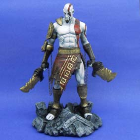 Boneco Kratos God of War 3