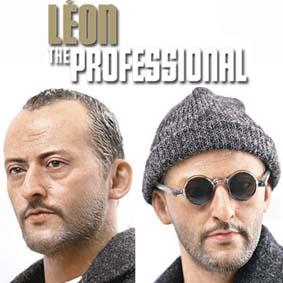 Boneco Léon O Profissional / The Professional Figure Enterbay escala 1/6