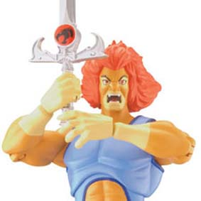 Boneco Lion Thundercats 2011 Classic (aberto) Bandai Action Figures