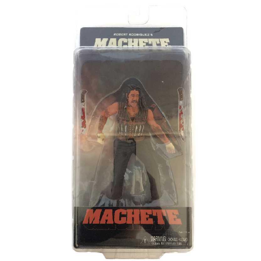 Boneco Machete - Danny Trejo Neca Action Figures Robert Rodriguez Novo