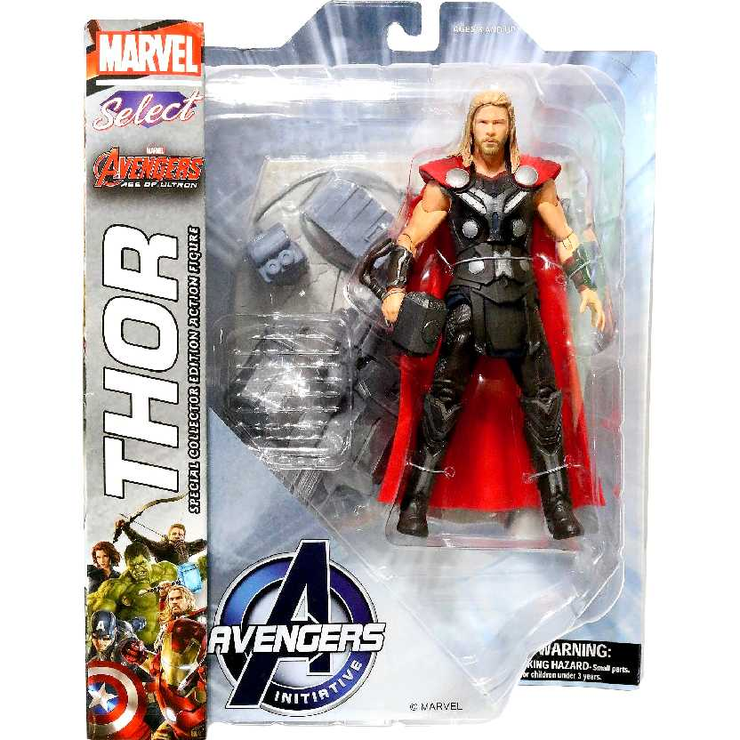 Boneco Marvel Select Thor Avengers 2 Age of Ultron Diamond