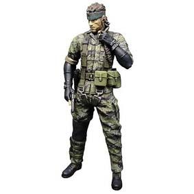 Boneco Metal Gear Solid 3 Naked Snake TIGER CAMO Medicom