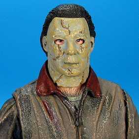 Boneco Michael Myers Halloween Remake Rob Zombie Neca Toys (aberto)