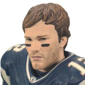 Boneco NFL Tom Brady (New England Patriots) marido da Gisele Bbündchen