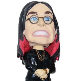 Boneco Ozzy Osbourne Head Knocker Bobble Head ( RARO ) balança a cabeça