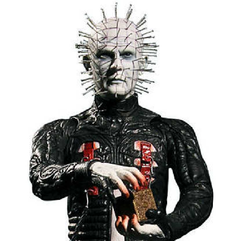 Boneco Pinhead Hellraiser III Hell on Earth Mezco Toyz action figures