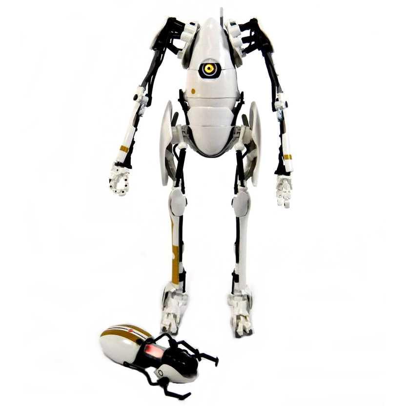 Boneco Portal 2 P-Body (Portal Bots) com led da Neca Toys