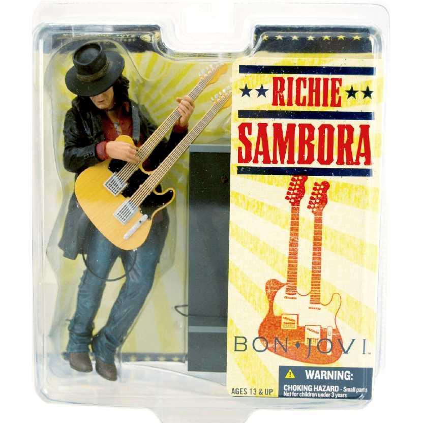Boneco Richie Sambora Bon Jovi marca Mcfarlane Toys Action Figures