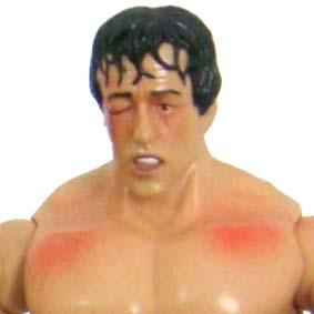 Boneco Rocky Balboa (aberto) Jakks Pacific Action Figures