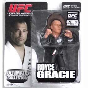 Boneco Royce Gracie Colecionável - Bonecos UFC Round 5 VARIANT
