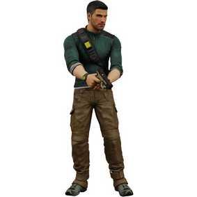 Boneco Sam Fisher do Game Splinter Cell Conviction (aberto) Neca Brinquedos