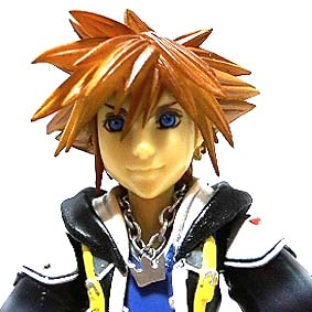 Boneco Sora Kingdom Hearts 2 Play Arts Kai Square Enix Action Figure