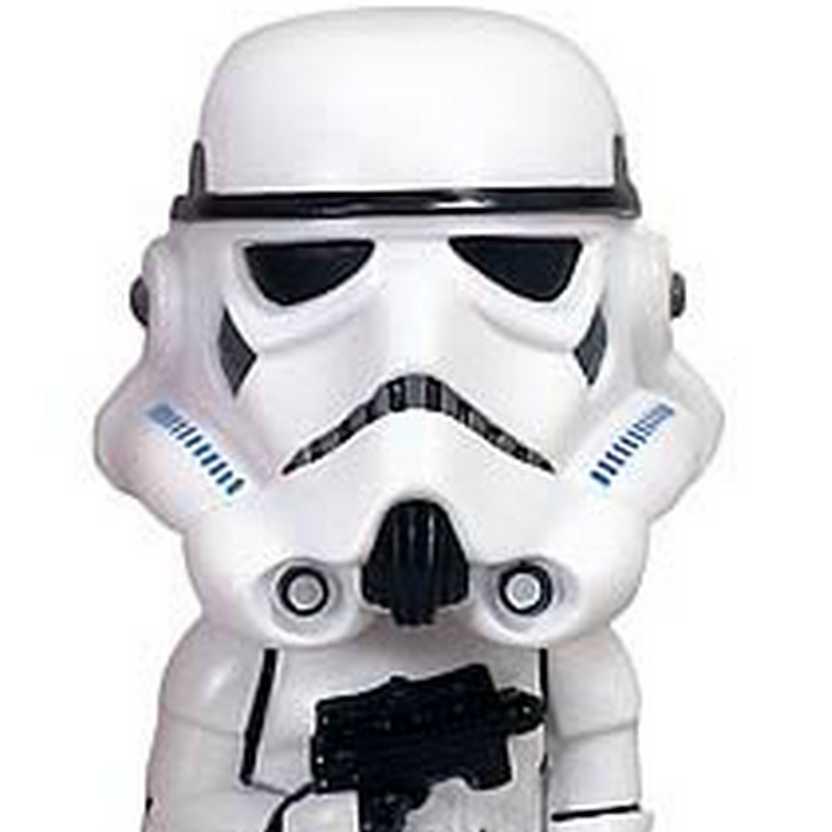 Boneco Stormtrooper BobbleHead Wacky Wobbler Funko Figure