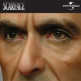 Boneco Tony Montana (Al Pacino) Scarface Blitzway Action Figures 1/6 Scale