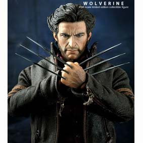 Boneco Wolverine X-Men Origins Hot Toys