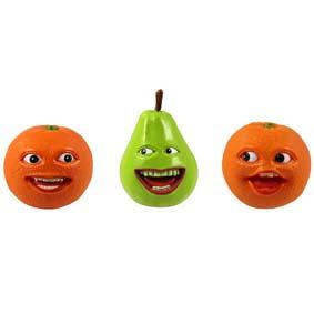 Bonecos A Laranja Irritante e a Pêra :: Annoying Orange and Pear Figure