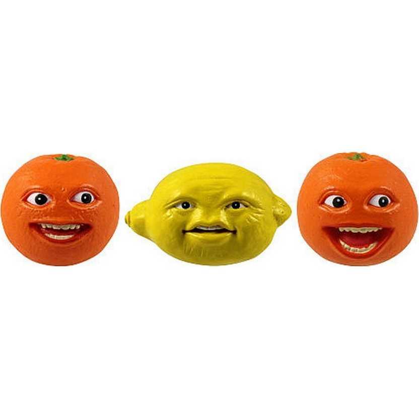 Bonecos A Laranja Irritante e o Limão - Annoying Orange and Grandpa Lemon Figure