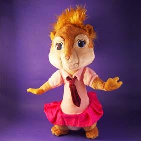 Bonecos Alvin e os Esquilos 2 - Boneca Brittany (aberta)