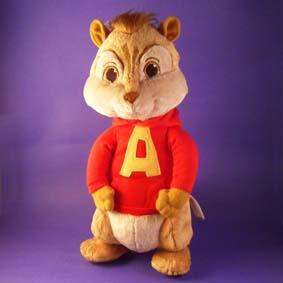 Bonecos Alvin e os Esquilos 2 - Boneco Elvin (aberto)