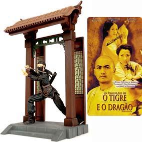Bonecos ArtAsylum filme O Tigre e o Dragão :: Jen Yu Action Figure (aberto) Zhang Ziyi