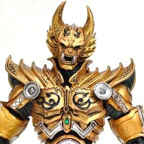 Bonecos Bandai Garo Makai Senki Gold Knight