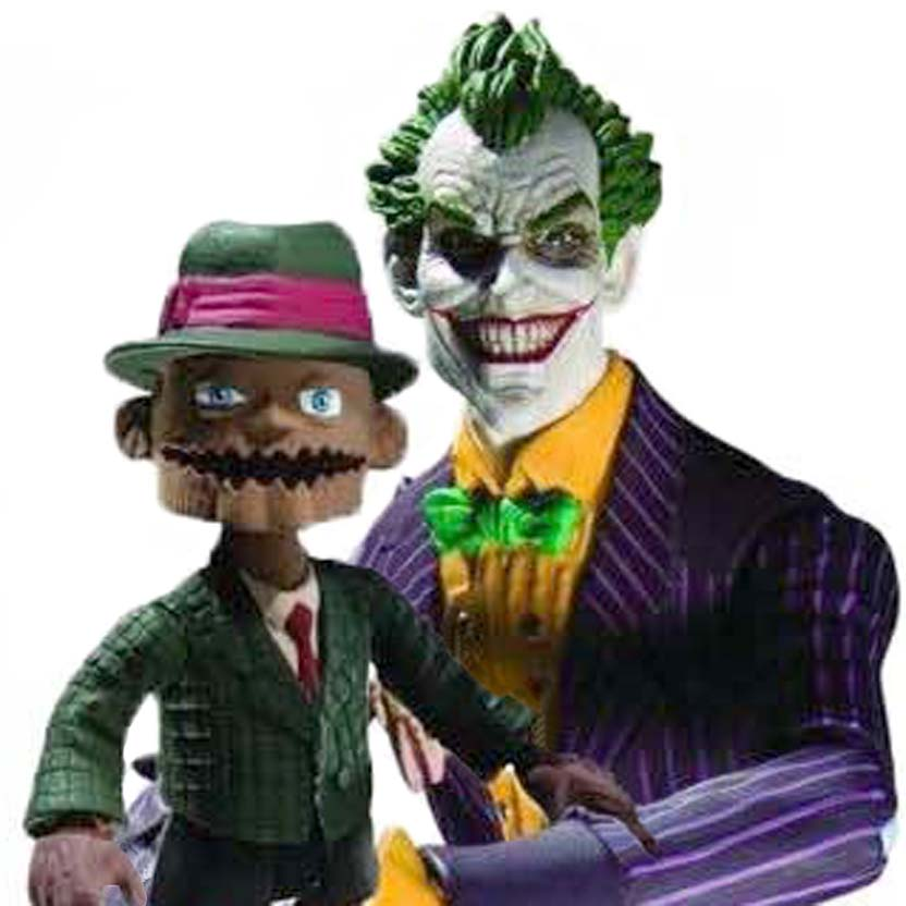 Bonecos Batman Arkham Asylum DC Direct Joker / Scarface
