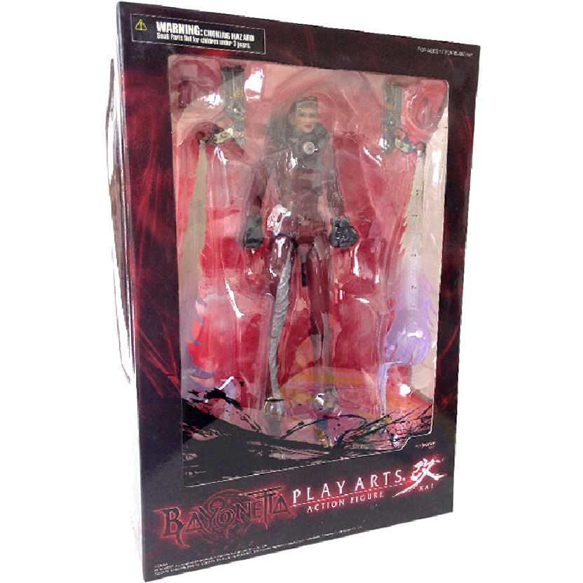 Bonecos Bayonetta Jeanne Play Arts Kai Action Figures do Brasil Square Enix